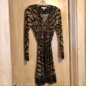 MICHAEL Michael Kors Animal Print Dress: M